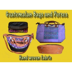 Guatemalan Bags, Purses, Wallets